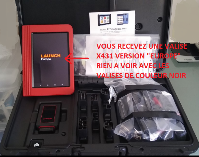 LAUNCH X431 PRO EUROPE V3+